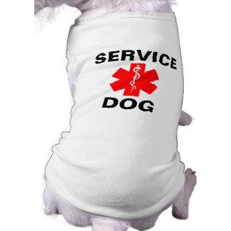 Tank för T-tröja för symbol för tjänste- Långärmad Hundtöja