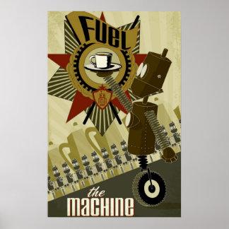 Tanka maskinen poster