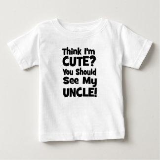 Tänka mig gullig förmiddag?  Du bör se min UNCLE! Tee Shirt