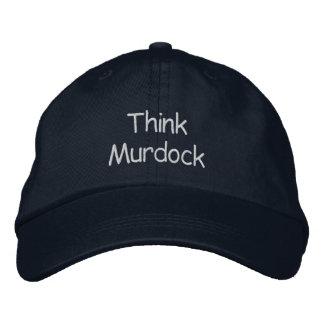 Tänka Murdock Broderade Kepsar