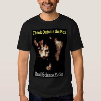 Tänka Outide boxas T Shirts