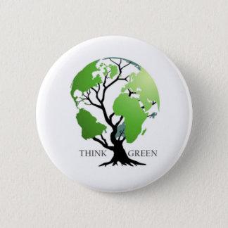 tänkagrönt! standard knapp rund 5.7 cm