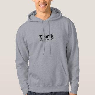 Tänkan är det inte olagligt, yet politiskt utrusta hoodie