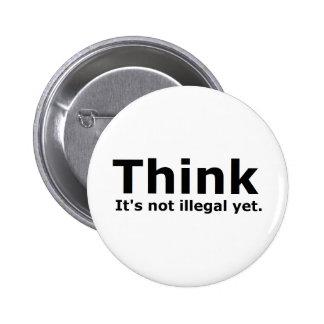 Tänkan är det inte olagligt, yet politiskt utrusta knapp