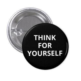 Tänkan för dig knäppas mini knapp rund 3.2 cm