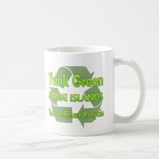 Tänkan görar grön Faroe Island Kaffemugg