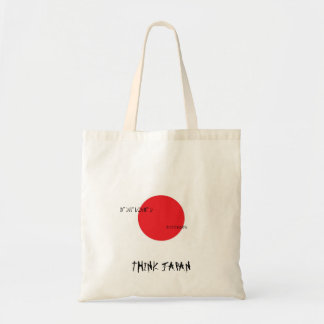 Tänkan Japan hänger lös Tygkasse