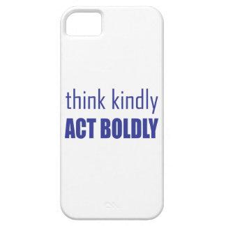 Tänkan vänligen, agerar fett iPhone 5 Case-Mate fodraler