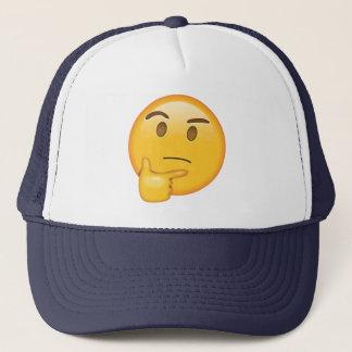 Tänkande ansikte - Emoji Keps