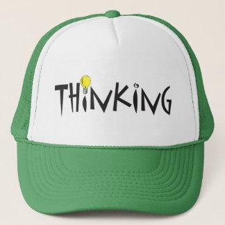 Tänkande hatt keps