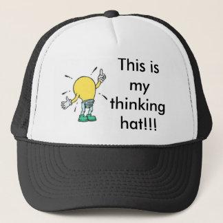 tänkande hatt truckerkeps