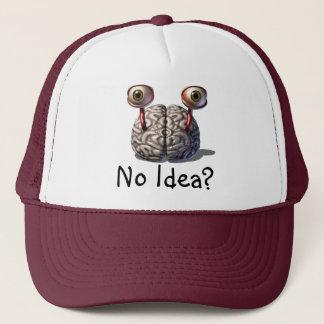 Tänkande lock för hjärna truckerkeps