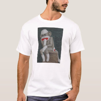 Tänkande Thock apa T-shirt