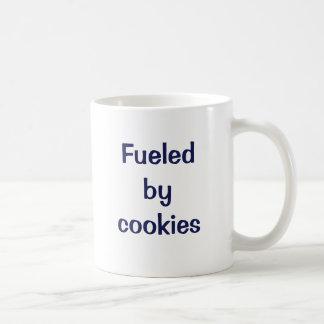Tankat av cookies. kaffemugg