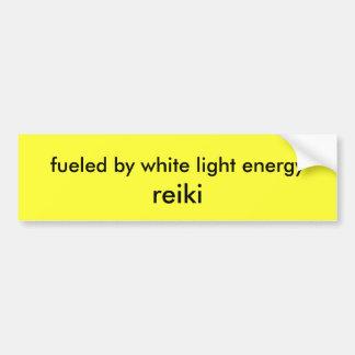 tankat av energi för vit lätt, reiki bildekal
