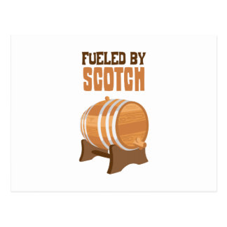Tankat av Scotch Vykort