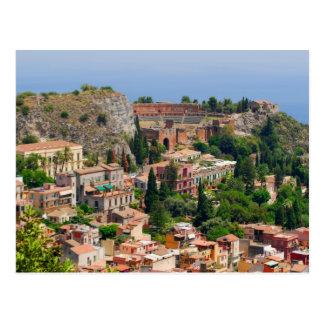 Taormina amphitheater 4 vykort