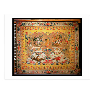 Tapestry 1720s (textilen) vykort