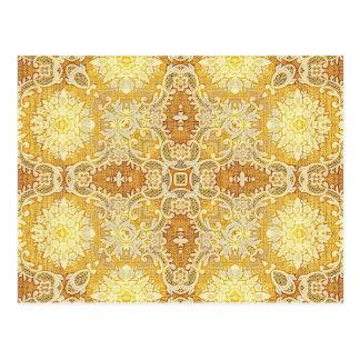 Tapestry 1 för KaleidoscopeKreations citron Vykort
