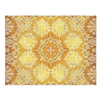 Tapestry 4 för KaleidoscopeKreations citron Vykort