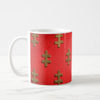 tapestry för struktur för budapest hungary kaffemugg