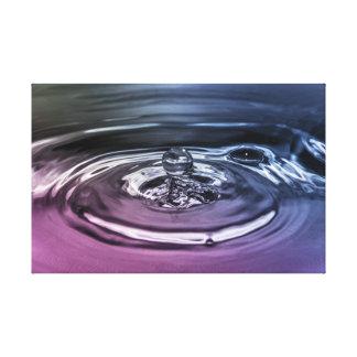 Tappa av vatten canvastryck