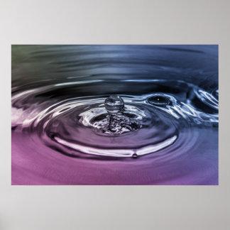 Tappa av vatten poster