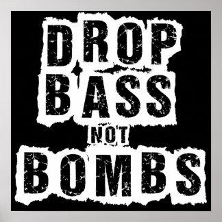 Tappa basen inte bombarderar affischer