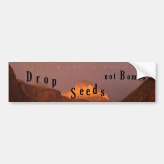 Tappa frö inte bombarderar, återställandeinfödingl bildekal