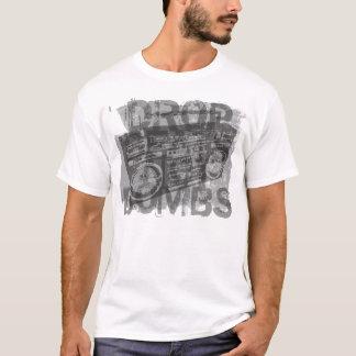 Tappa takter inte bombarderar t-shirts