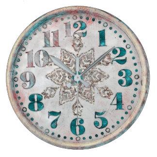 Tar tid på den gammala söten för antik vintage stor klocka