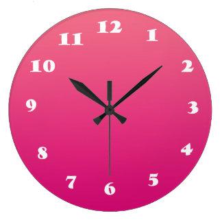 Tar tid på den stora) väggen för rosarundan ( stor klocka
