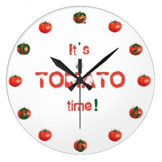 """""""Tar tid på den tomatTime"""" realiteten Stor Klocka"""