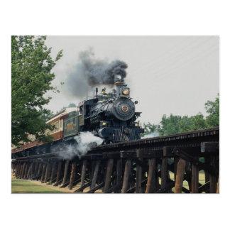 Taranteljärnväg, Fort Worth, Texas, USA Vykort