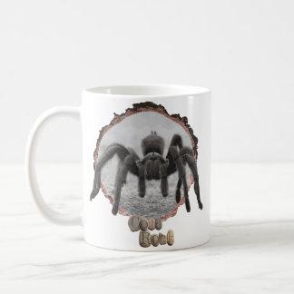 Tarantelkaffemug. Kaffemugg