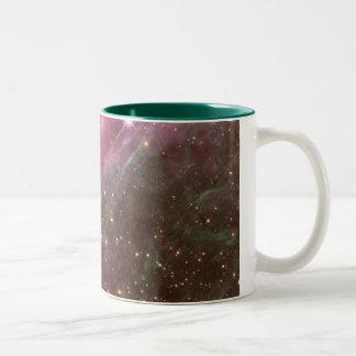 tarantelnebula Två-Tonad mugg