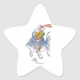 Tarlervins_Sea_Quest_ Stjärnformat Klistermärke