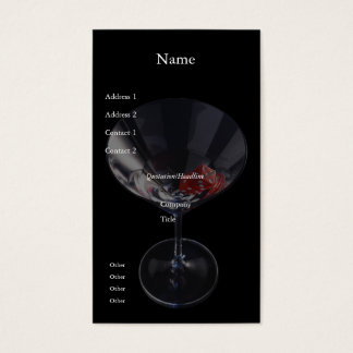 Tärningexponeringsglasvisitkort Visitkort