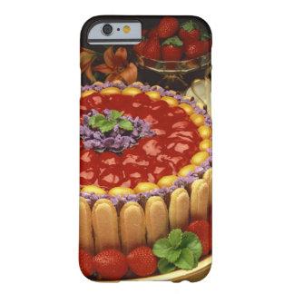 Tårta för jordgubbedamfinger barely there iPhone 6 fodral
