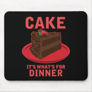 Tårtan är det vad är för middag musmatta