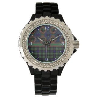 Tartan för kilt för Cooke klanpläd skotsk Armbandsur