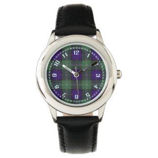 Tartan för kilt för Dodd klanpläd skotsk Armbandsur