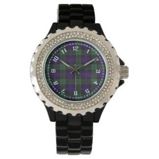 Tartan för kilt för Fairbairn klanpläd skotsk Armbandsur