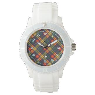 Tartan för kilt för MacKinley klanpläd skotsk Armbandsur