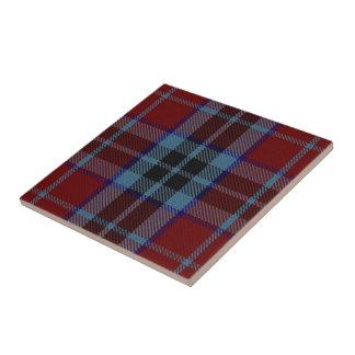 Tartan för klanMacTavish skotsk uttryck Kakelplatta