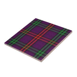 Tartan för klanMontgomery skotsk uttryck Kakelplatta