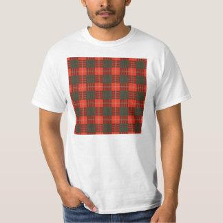 Tartan för skott för Crawford klanpläd T-shirt