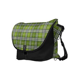 Tartan [grönt] kurir väskor