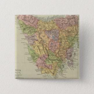 Tasmania Fiji Standard Kanpp Fyrkantig 5.1 Cm