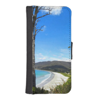 Tasmanian kusten plånboksfodral för iPhone SE/5/5s